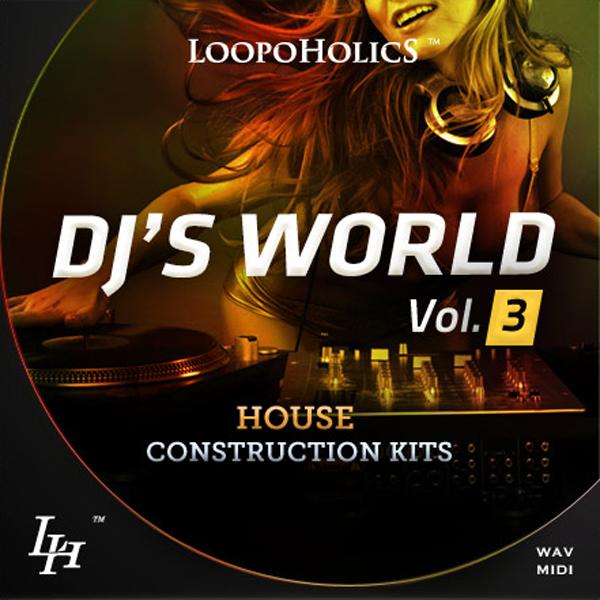 DJ's World Vol. 3: House Construction Kits