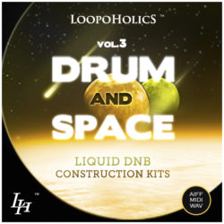 Drum N Space Vol. 3: Liquid DnB Construction Kits