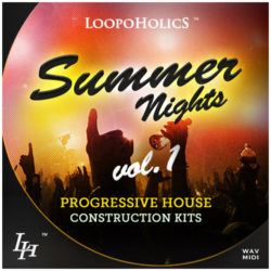 Summer Nights Vol. 1: Progressive House Construction Kits